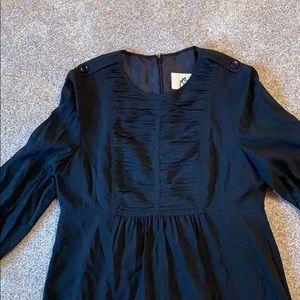 Black knee length Burberry dress